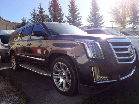 2015 Cadillac Escalade ESV for sale in Jackson, WY