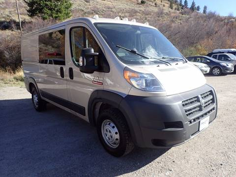 2015 RAM ProMaster Cargo for sale in Jackson, WY