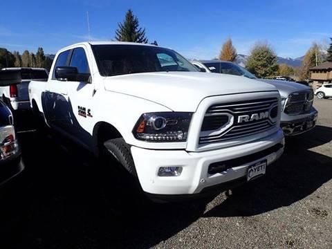 2018 RAM Ram Pickup 2500 for sale in Jackson, WY