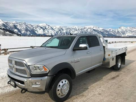 2018 RAM Ram Chassis 5500 for sale in Jackson, WY