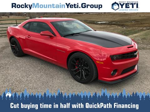 2013 Chevrolet Camaro for sale in Jackson, WY