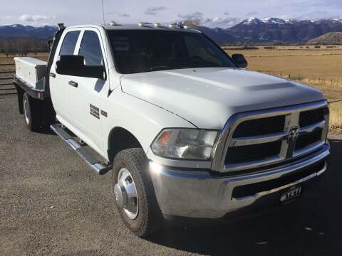 2014 RAM Ram Chassis 3500 for sale in Jackson, WY