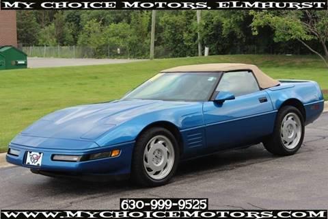 1991 Chevrolet Corvette for sale in Elmhurst, IL