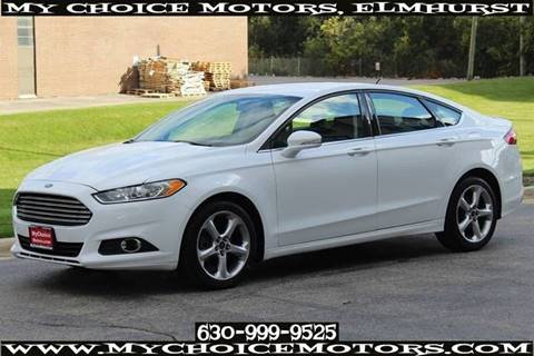 2016 Ford Fusion for sale at My Choice Motors Elmhurst in Elmhurst IL