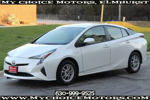 2016 Toyota Prius for sale at My Choice Motors Elmhurst in Elmhurst IL