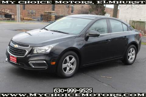 2015 Chevrolet Cruze for sale at My Choice Motors Elmhurst in Elmhurst IL