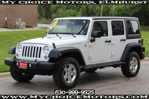2014 Jeep Wrangler Unlimited Sport for sale at My Choice Motors Elmhurst in Elmhurst IL