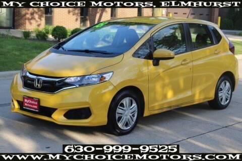 2018 Honda Fit LX for sale at My Choice Motors Elmhurst in Elmhurst IL