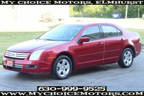 2007 Ford Fusion for sale at My Choice Motors Elmhurst in Elmhurst IL
