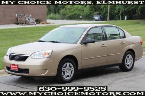 2007 Chevrolet Malibu for sale at My Choice Motors Elmhurst in Elmhurst IL