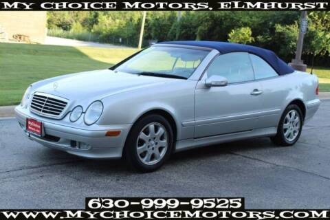 2000 Mercedes-Benz CLK for sale at My Choice Motors Elmhurst in Elmhurst IL