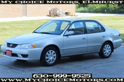 2002 Toyota Corolla for sale at My Choice Motors Elmhurst in Elmhurst IL