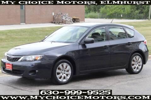 2008 Subaru Impreza for sale at My Choice Motors Elmhurst in Elmhurst IL