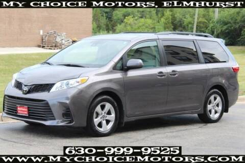 2019 Toyota Sienna for sale at My Choice Motors Elmhurst in Elmhurst IL