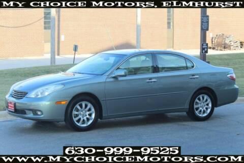 2003 Lexus ES 300 for sale at My Choice Motors Elmhurst in Elmhurst IL