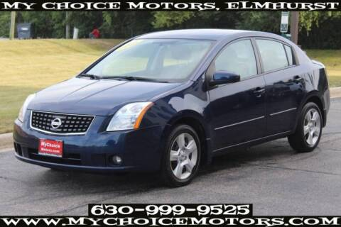 2008 Nissan Sentra for sale at My Choice Motors Elmhurst in Elmhurst IL