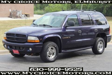 1998 Dodge Durango for sale at My Choice Motors Elmhurst in Elmhurst IL