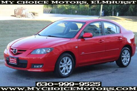 2008 Mazda MAZDA3 for sale at My Choice Motors Elmhurst in Elmhurst IL