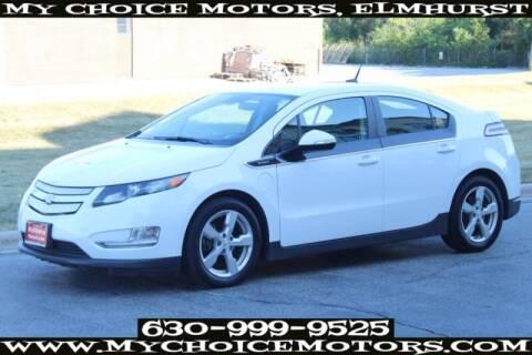 2014 Chevrolet Volt for sale at My Choice Motors Elmhurst in Elmhurst IL