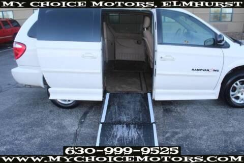 2002 Dodge Grand Caravan for sale at My Choice Motors Elmhurst in Elmhurst IL
