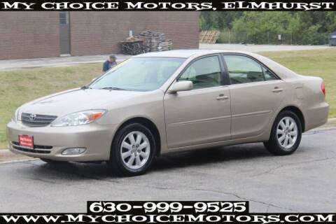 2003 Toyota Camry for sale at My Choice Motors Elmhurst in Elmhurst IL