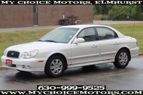 2004 Hyundai Sonata for sale at My Choice Motors Elmhurst in Elmhurst IL