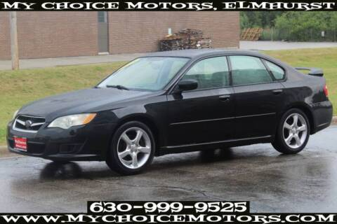 2008 Subaru Legacy for sale at My Choice Motors Elmhurst in Elmhurst IL