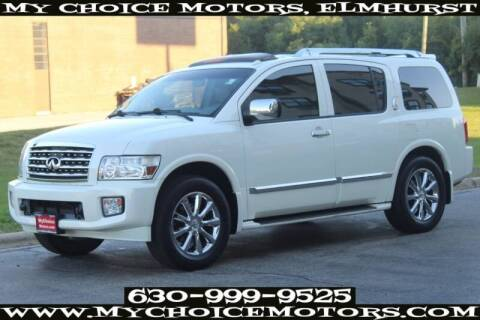 2008 Infiniti QX56 for sale at My Choice Motors Elmhurst in Elmhurst IL