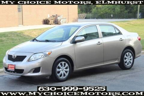 2010 Toyota Corolla for sale at My Choice Motors Elmhurst in Elmhurst IL