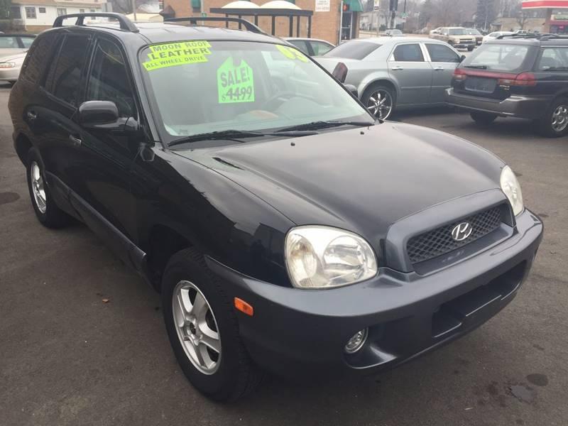 2003 Hyundai Santa Fe For Sale At PRESTIGE MOTORS In West Allis WI