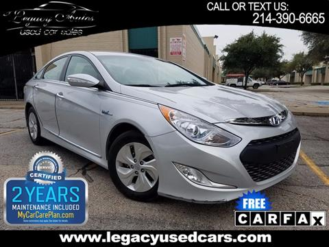 2015 Hyundai Sonata Hybrid for sale in Dallas, TX