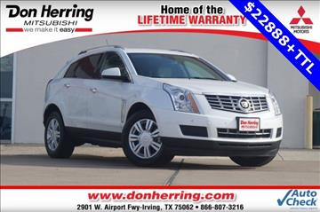 2014 Cadillac SRX for sale in Irving, TX