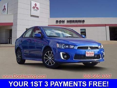 2017 Mitsubishi Lancer for sale in Irving, TX