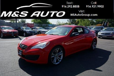 2011 Hyundai Genesis Coupe for sale in Sacramento, CA
