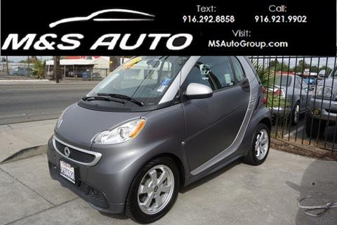 2013 Smart fortwo for sale in Sacramento, CA