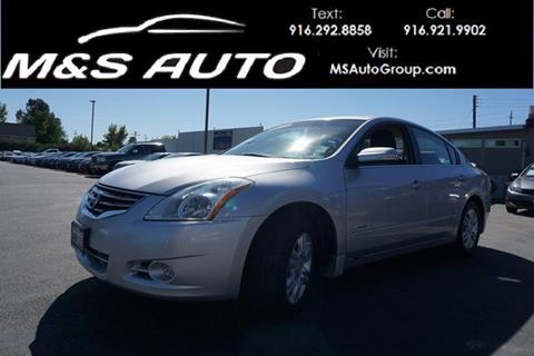 2010 Nissan Altima Hybrid for sale in Sacramento, CA