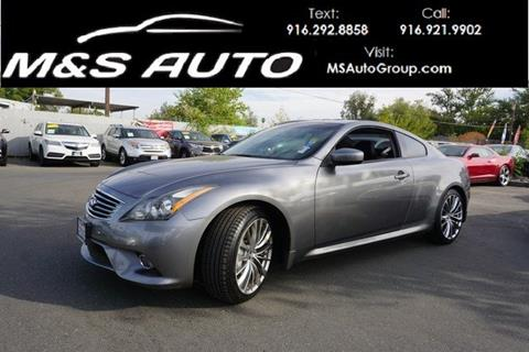 2011 Infiniti G37 Coupe for sale in Sacramento, CA