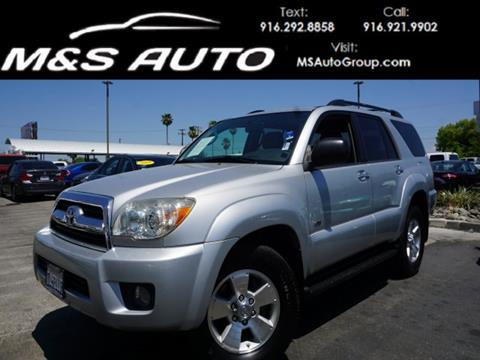 used 2007 toyota 4runner for sale in california. Black Bedroom Furniture Sets. Home Design Ideas
