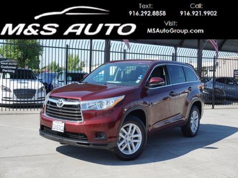 2015 Toyota Highlander For Sale >> Used 2015 Toyota Highlander For Sale In California Carsforsale Com