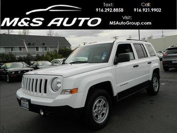 2012 Jeep Patriot for sale in Sacramento, CA