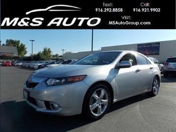2012 Acura TSX for sale in Sacramento, CA