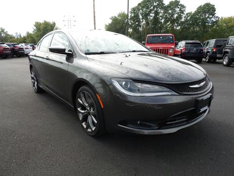 2015 Chrysler 200 for sale in Kingston, NY