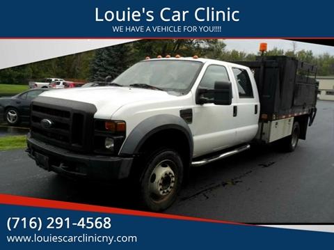 2008 Ford F-550 Super Duty for sale in Clarence, NY