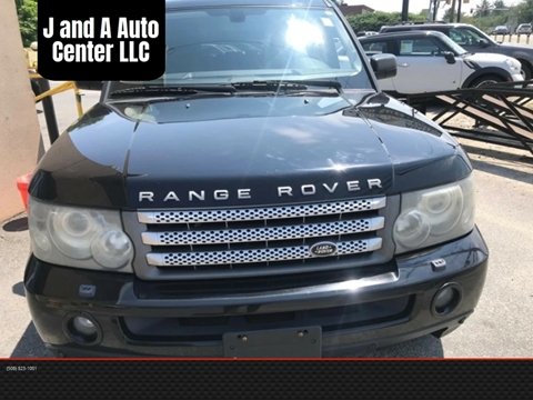2008 Land Rover Range Rover Sport for sale in Raynham, MA