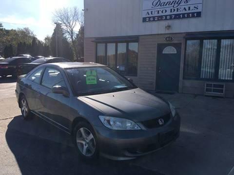 2005 Honda Civic for sale in Grafton, WI