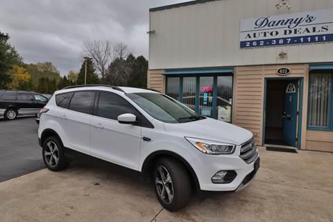 2017 Ford Escape for sale at Danny's Auto Deals in Grafton WI