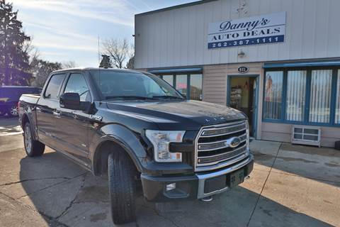 2016 Ford F-150 for sale at Danny's Auto Deals in Grafton WI