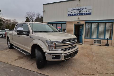 2018 Ford F-150 for sale at Danny's Auto Deals in Grafton WI