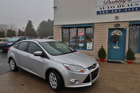 2012 Ford Focus for sale at Danny's Auto Deals in Grafton WI