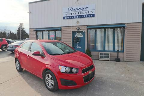 2013 Chevrolet Sonic for sale at Danny's Auto Deals in Grafton WI